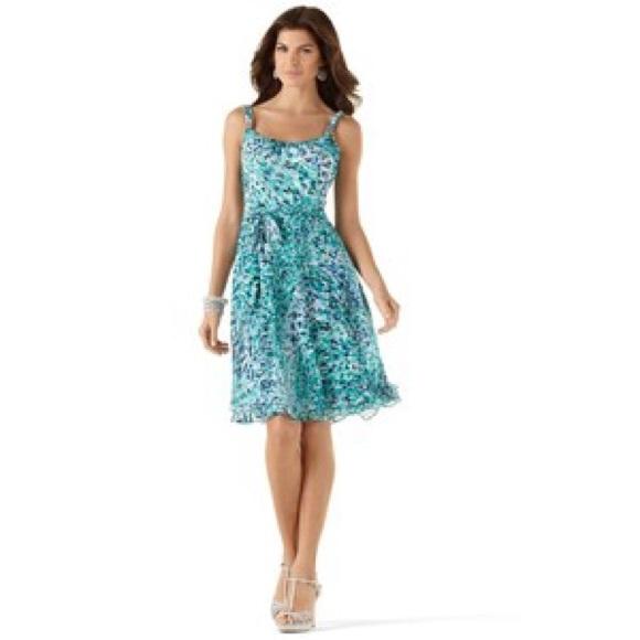 Tea Length Summer Dress